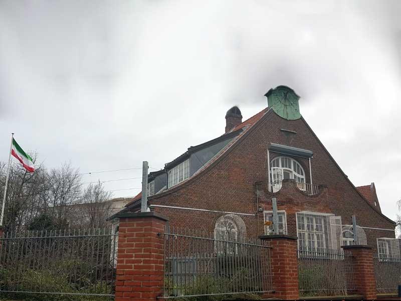 Iranian Consulate, Copenhagen, Denmark