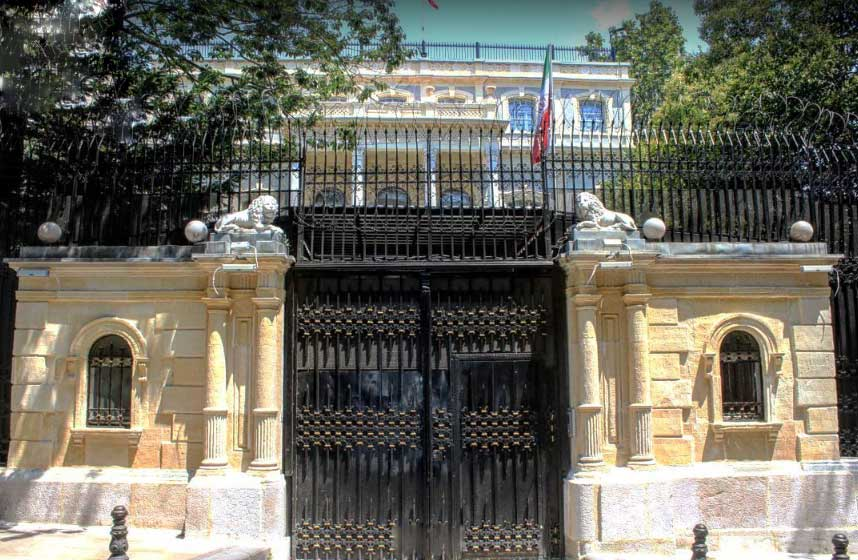 Iranian Consulate, Istanbul, Turkey