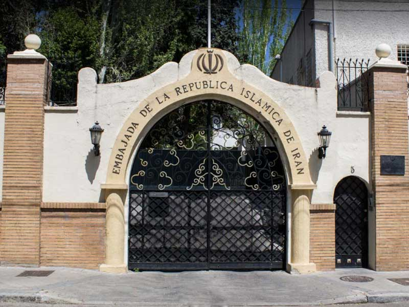 Iranian Embassy, Madrid, Spain
